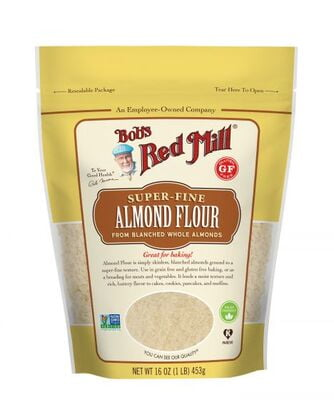 Bobs Red Mill Finely Ground Almond Meal Flour 453g