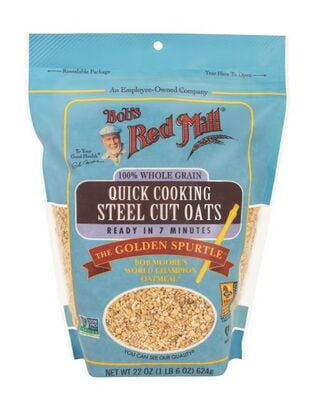 Bobs Red Mill Quick Cooking Steel Cut Oats 623g