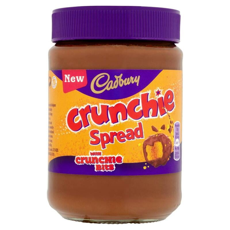 Cadbury Crunchie Spread with Crunchie Bits 400g