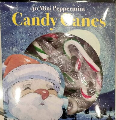 Candy Canes 30 Mini Peppermint Candy Sticks (30 X 4g) 120g