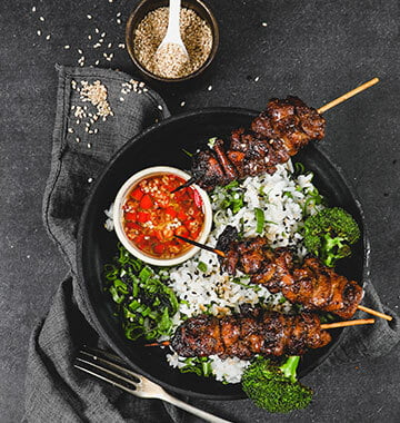 Chicken Skewers Marinated