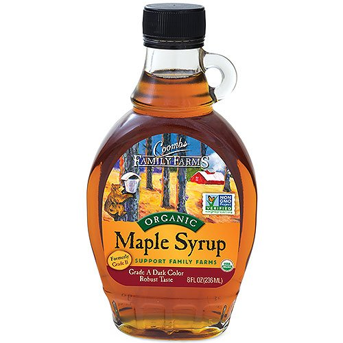 Coombs Family Farms Organic Maple Syrup Bottle 236 ml