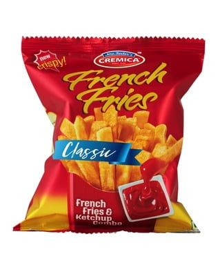 Cremica French Fries Classic 74g Poly Pack