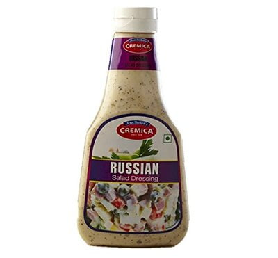 Cremica Russian Salad Dressing 350g Pet Bottle