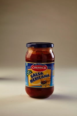 Cremica Salsa Mexicans 400g Glass Bottle