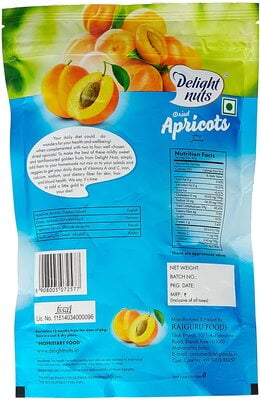 Delight Nuts Dried Apricots 200g