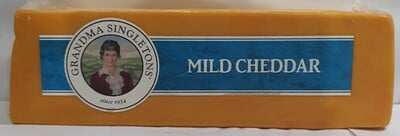Grandma Singleton Cheddar Red Block 4.5kg