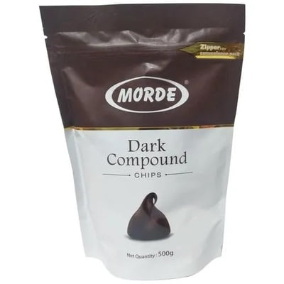 Morde Dark Compound Chocolate Chips 500g
