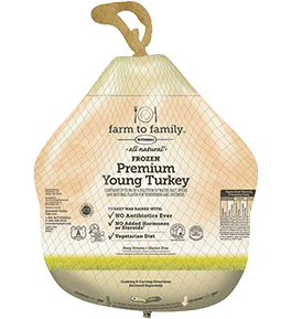 farm to family Butterball Turkey Whole